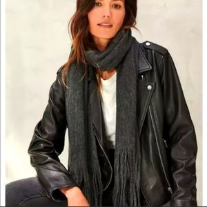Lucky Brand Solid Brushed Scarf